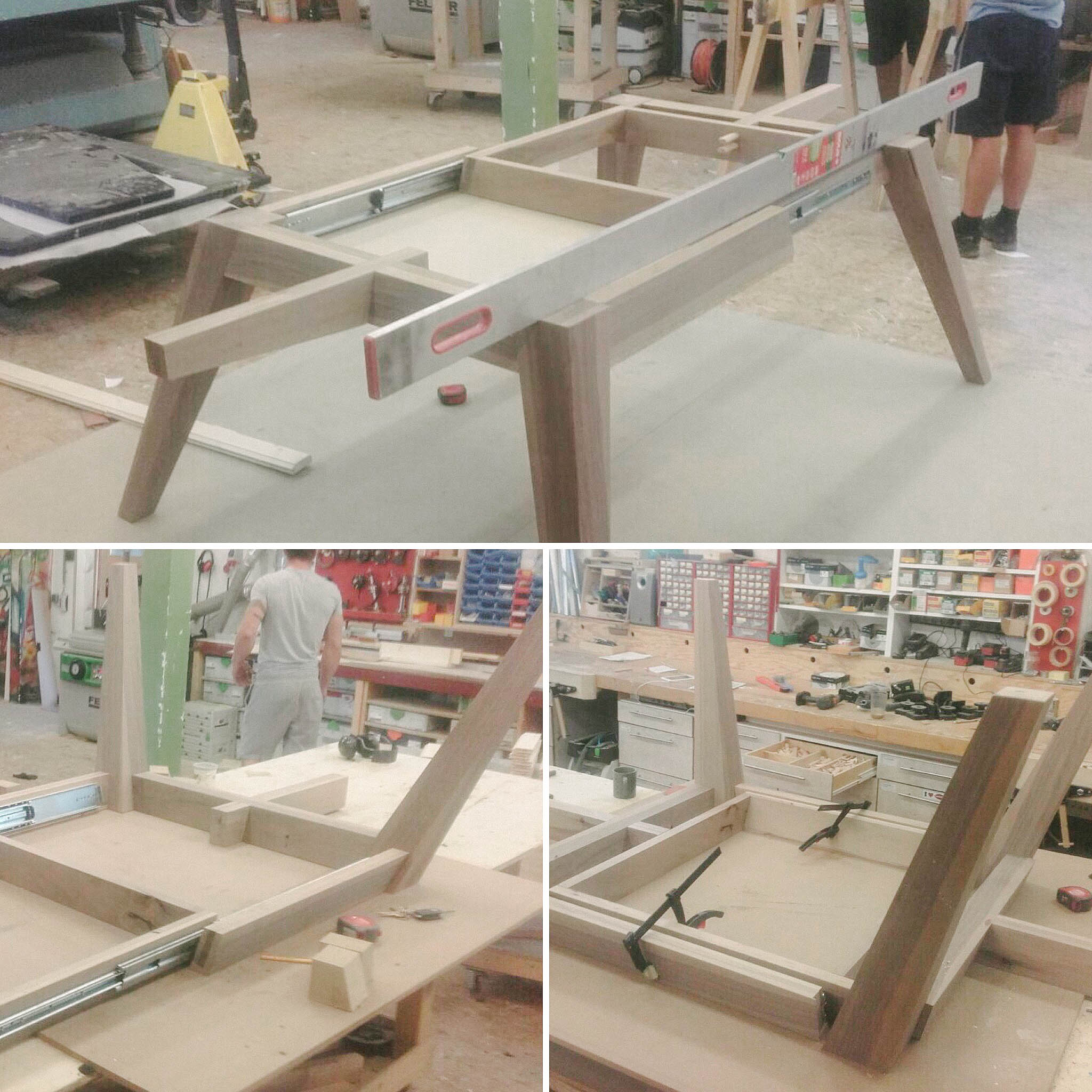 cy architecture - granite&wood table - process-2